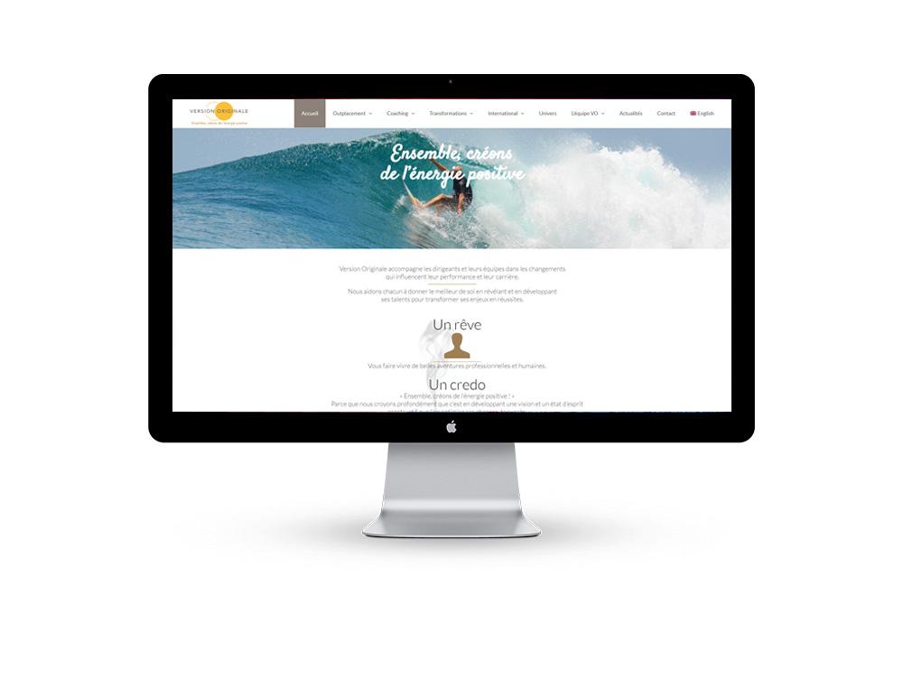 site web coaching sous wordpress manufacture web
