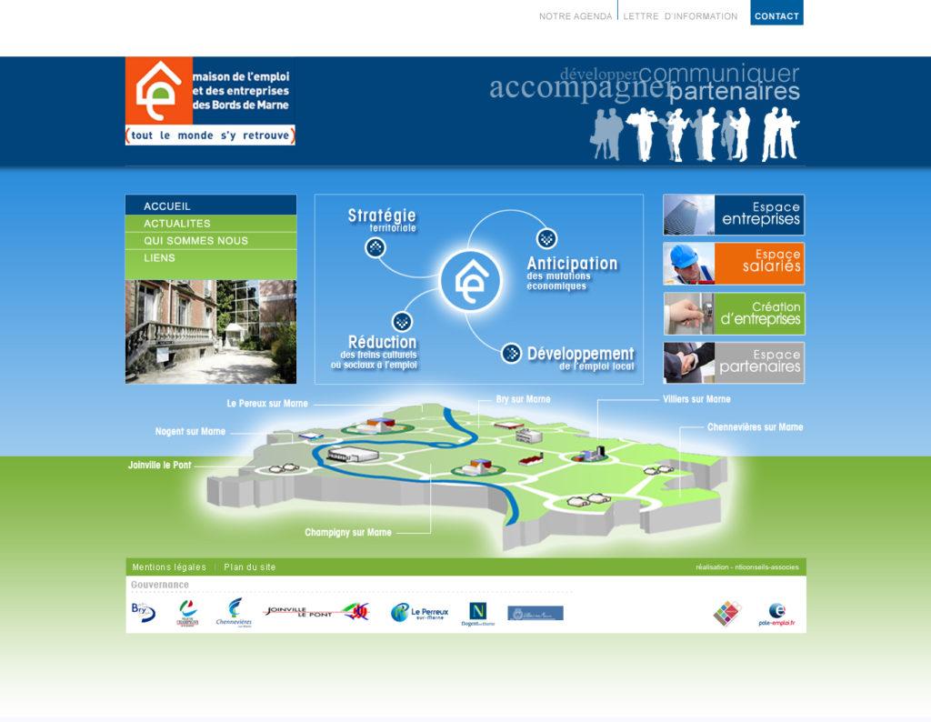 Agence création site web Maison de l'emploi