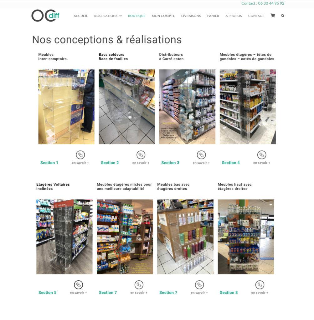 création site internet pour OCDIFF